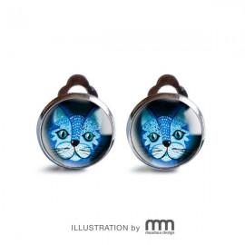BLUE CAT klipsy