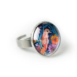 AUTMUM BIRD pierścionek
