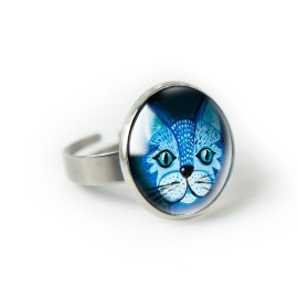 BLUE CAT pierścionek