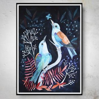 NIGHT BIRDS Plakat