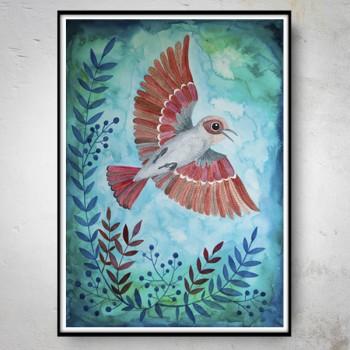 RED BIRD Plakat