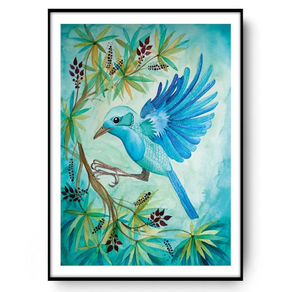 JUNGLE BIRD Plakat