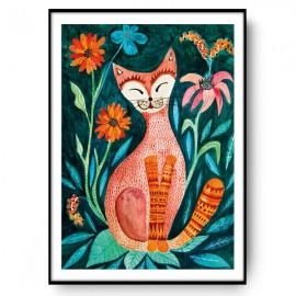 ORANGE CAT ilustracja